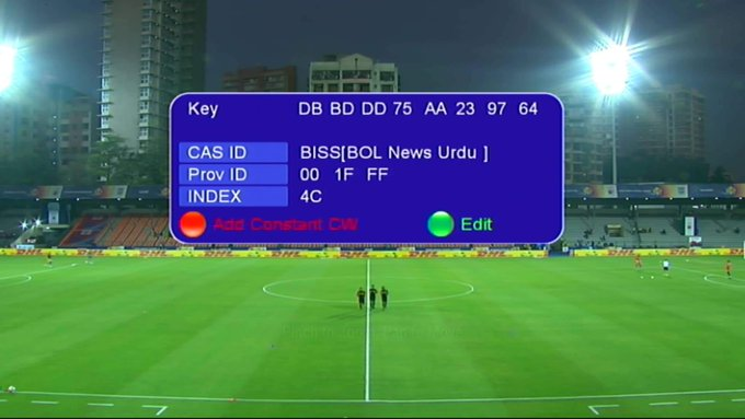 Photo of Football Latest Biss Key Apstar 7 76.5'E 06-02-2020