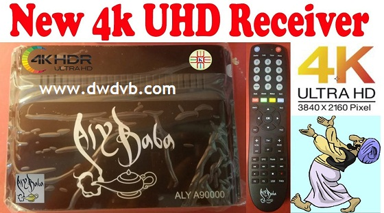 Photo of ALY BABA A90000 4K ANDROID RECEIVER Youtube App & Satellite dvb