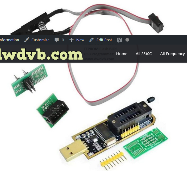 Photo of CH341A USB Programmer 24 Series