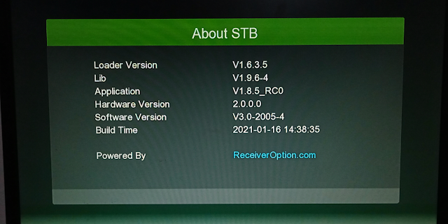 Photo of Software GX6605S 5815 V4.1 WITH GREEN THEME