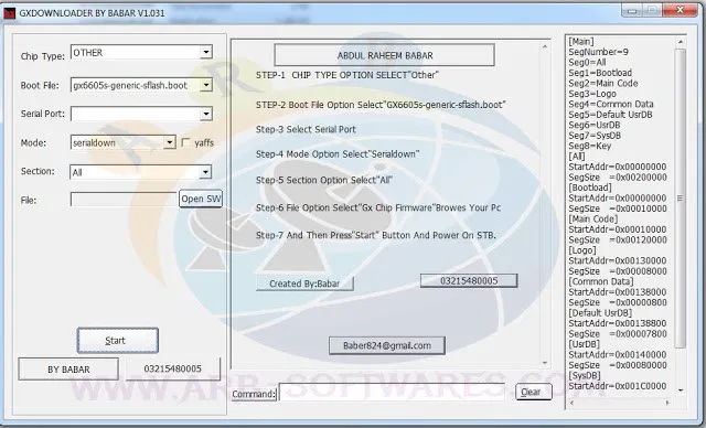 Photo of All GX6605S PC Loader Tools Software 2021