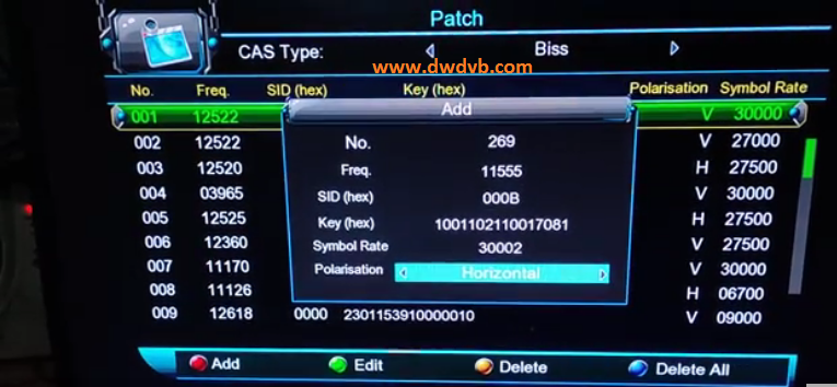 Photo of How To Add IdMan TV Biss Key All set top box