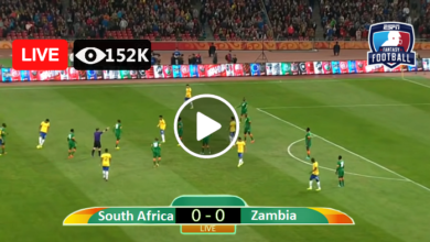 Photo of South Africa VS Zambia COSAFA Cup Live Football Scores 13 july 2021
